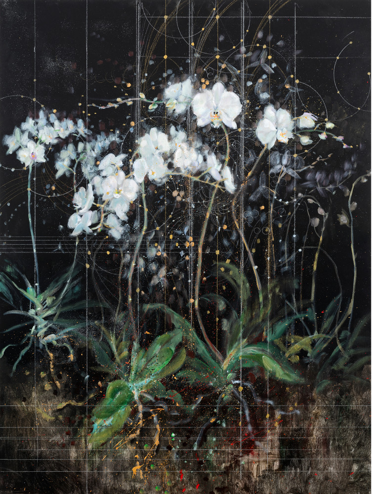 Symphonic Creation Of The Orchids Art | Freiman Stoltzfus Gallery
