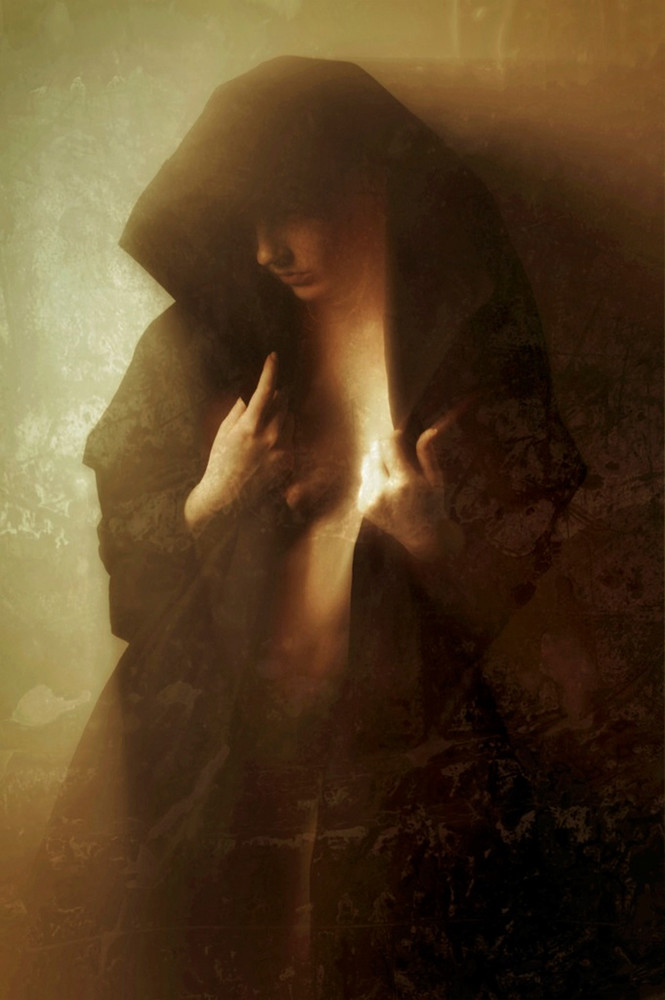 Holly Madonna - Photo manipulation with art model Holly Loveday by David Bollt