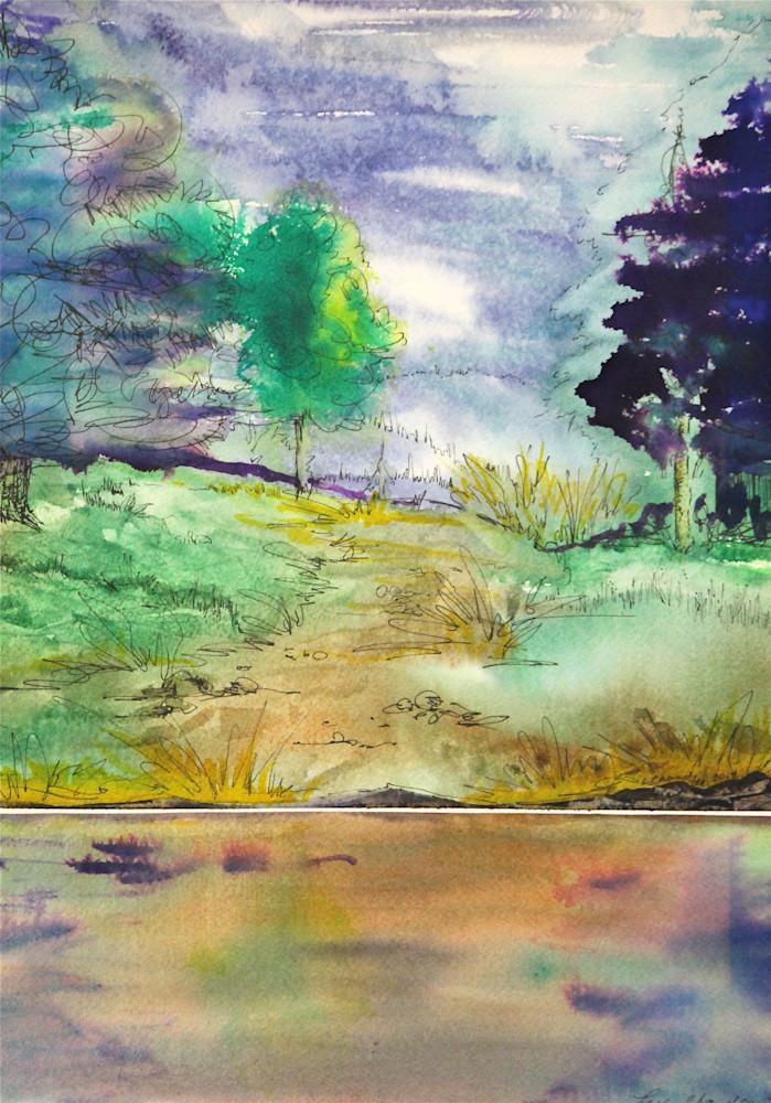 To The Water's Edge Art   lesliechandlerarts