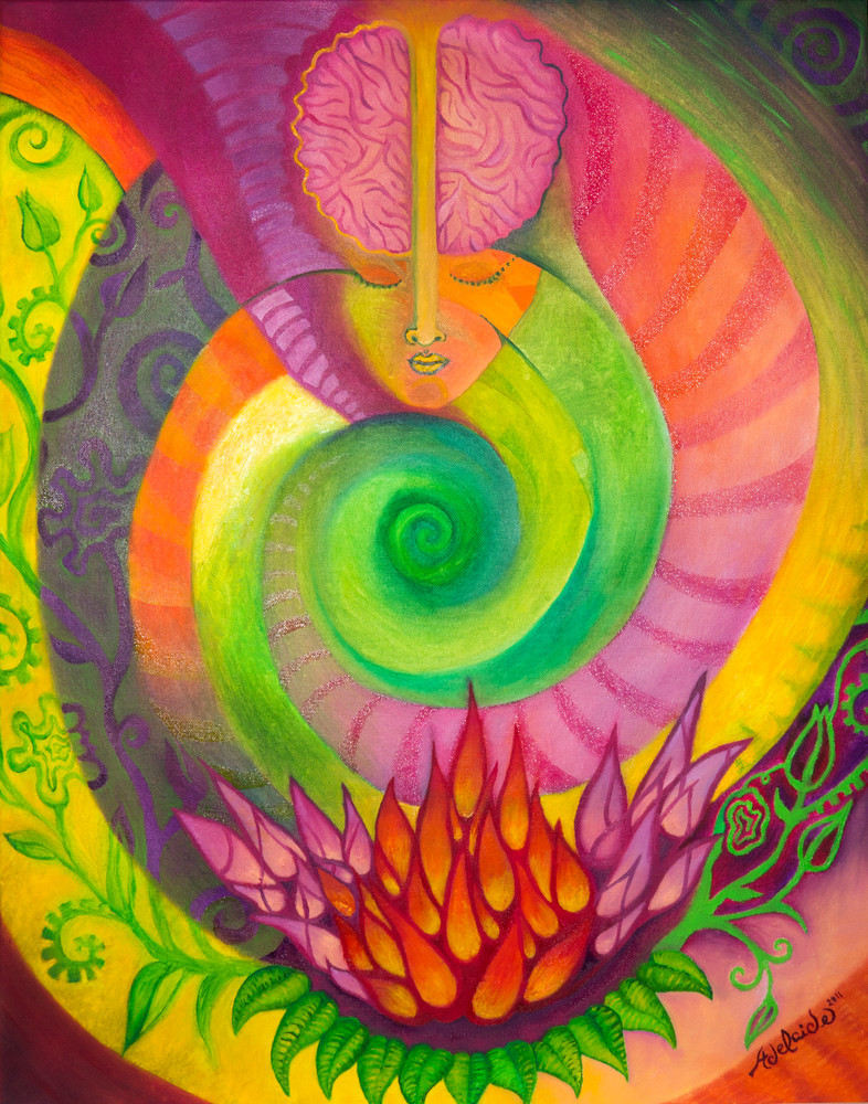 Mind body and spirit artwork