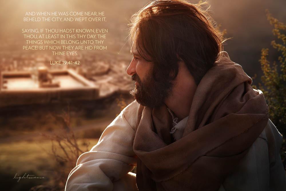 Jerusalem with Scripture