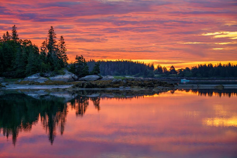 Early Start - Penobscot Island, Maine 2016