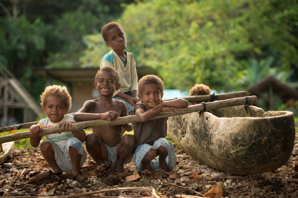 Village Boys - Pentecost Island, Vanuatu 2012