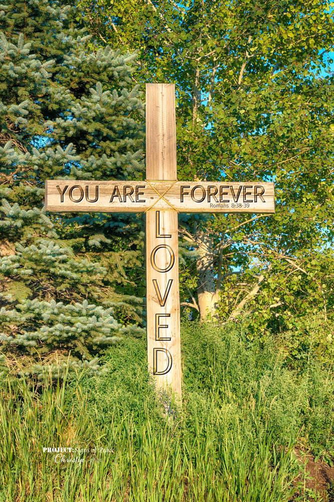 Loved Forever Cross