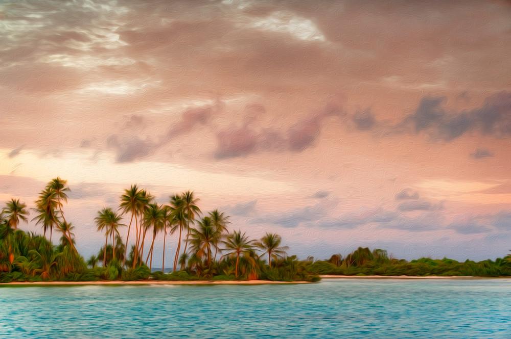 Penrhyn Sunset AE - Penrhyn Atoll, Cook Islands 2009