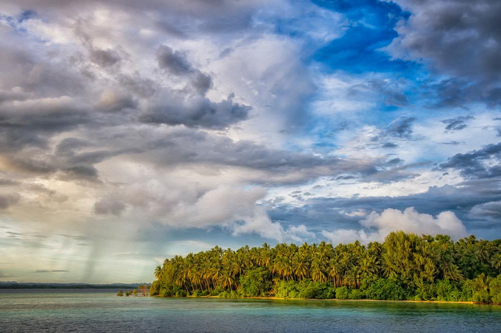 Island Squall - near Randavu, Solomon Islands 2012