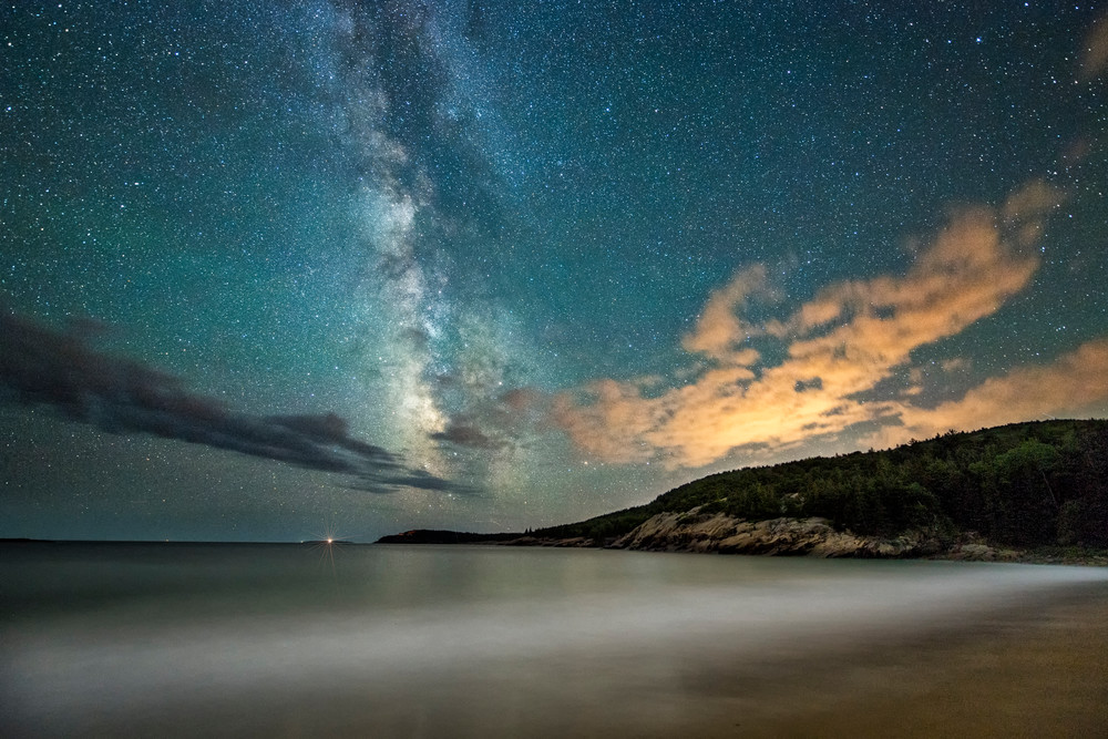 Light Pollution at Sand Beach