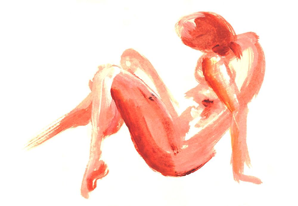 Sitting Pretty is an acrylic painting. Art by Susan Kraft