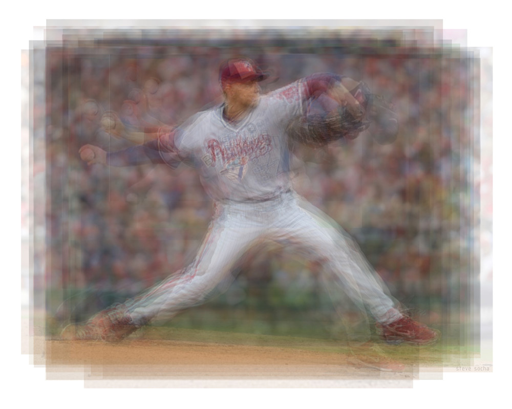 "Overlay art – contemporary art prints of Roy ""Doc"" Halladay"