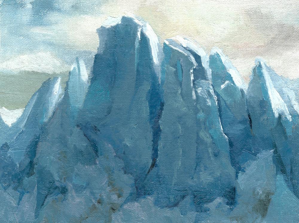Perito Moreno | Glacier Art Print by Antrese Wood