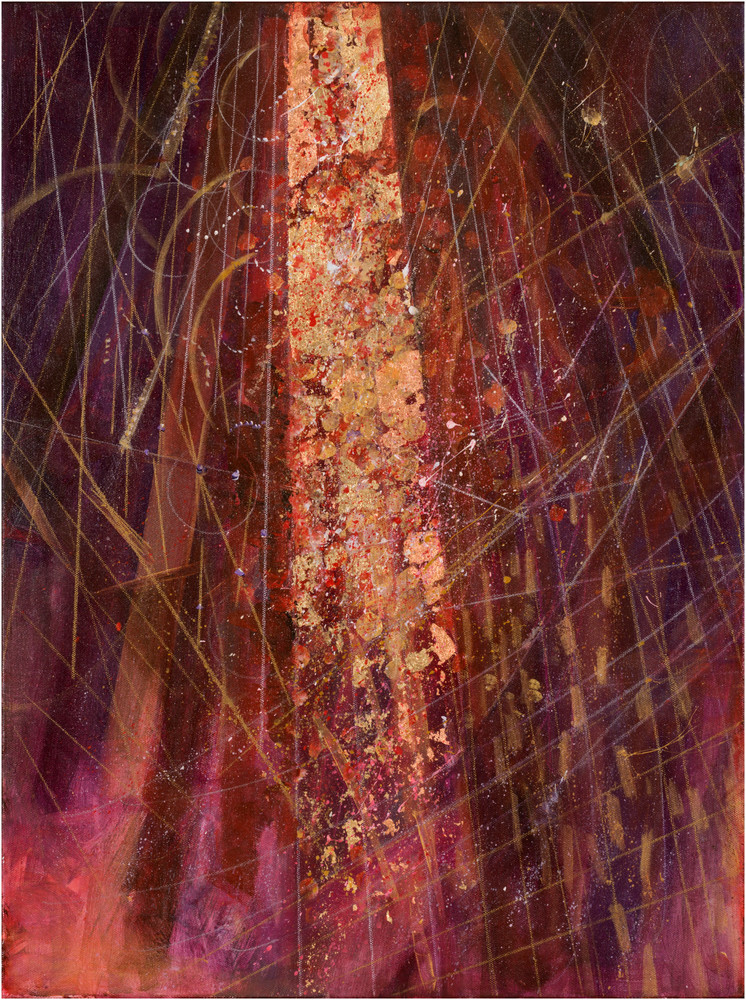 Crescendo In Red And Gold Art | Freiman Stoltzfus Gallery
