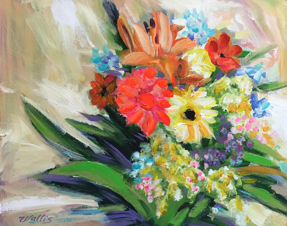 Nature Morte Florale  Art   Charles Wallis