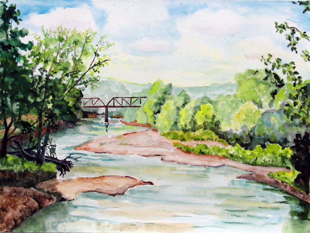 Hickman Cty Rr Bridge Art | David Beale