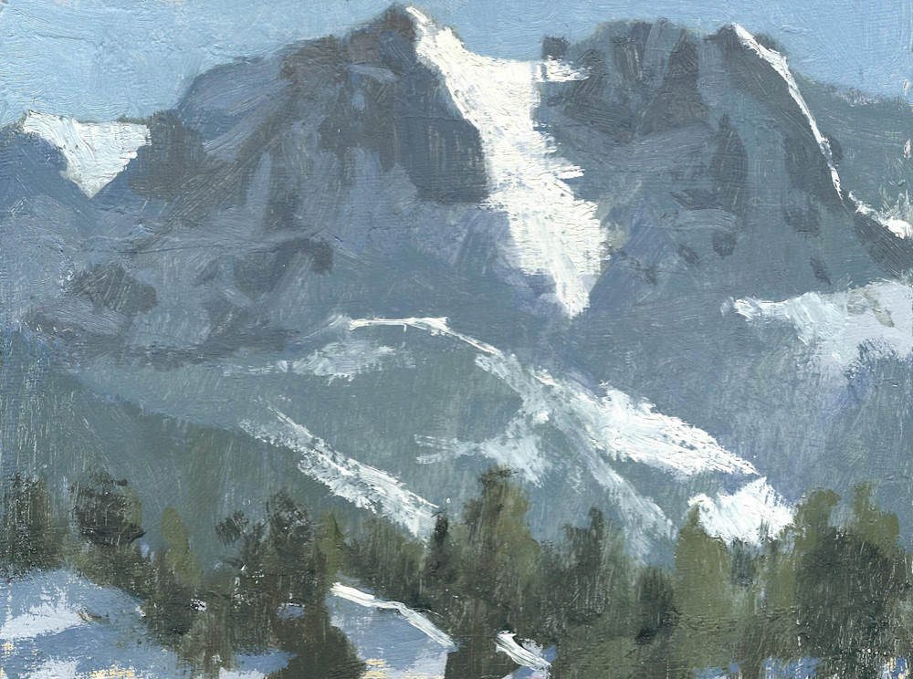 Carson Peak, Winter June Lakes