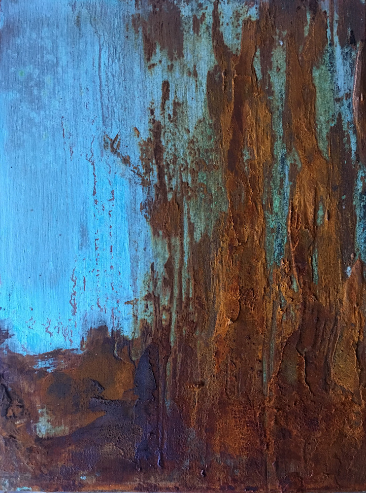 Road to Joy abstract landscape paInting
