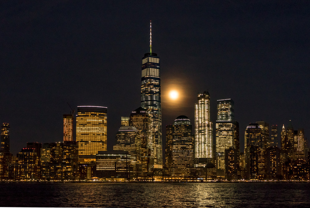 Freedom Tower Moonrise
