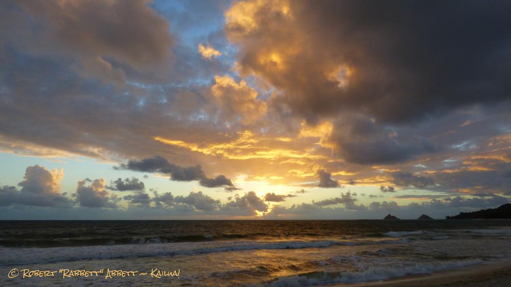 A Golden Sunrise!