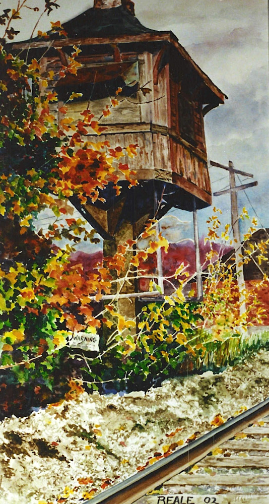 Signal Tower Art | David Beale