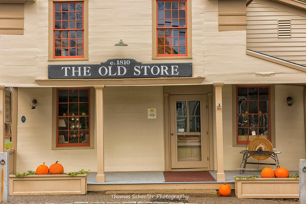 The Old Store of Sherman Connecticut as Fine Art photographs