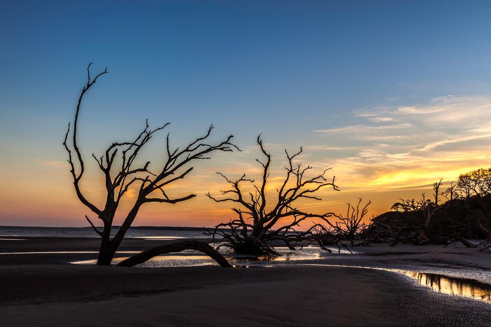 Ossabaw South Beach Sunset