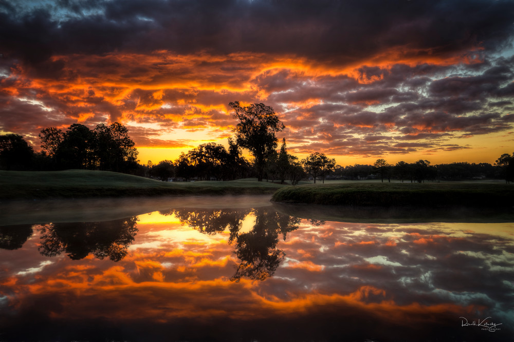 Flames of the Morning Light Photographic Art