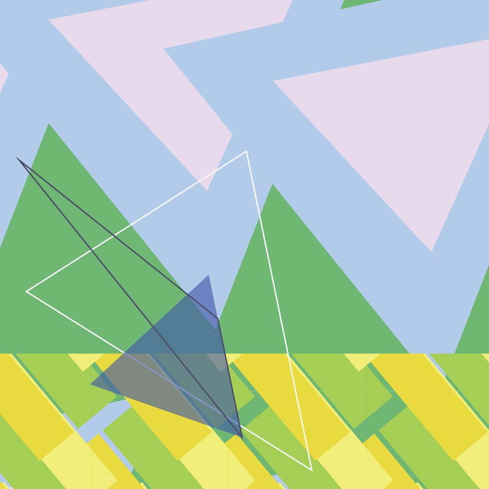 triangle, abstract art, wall art, art, spectrum