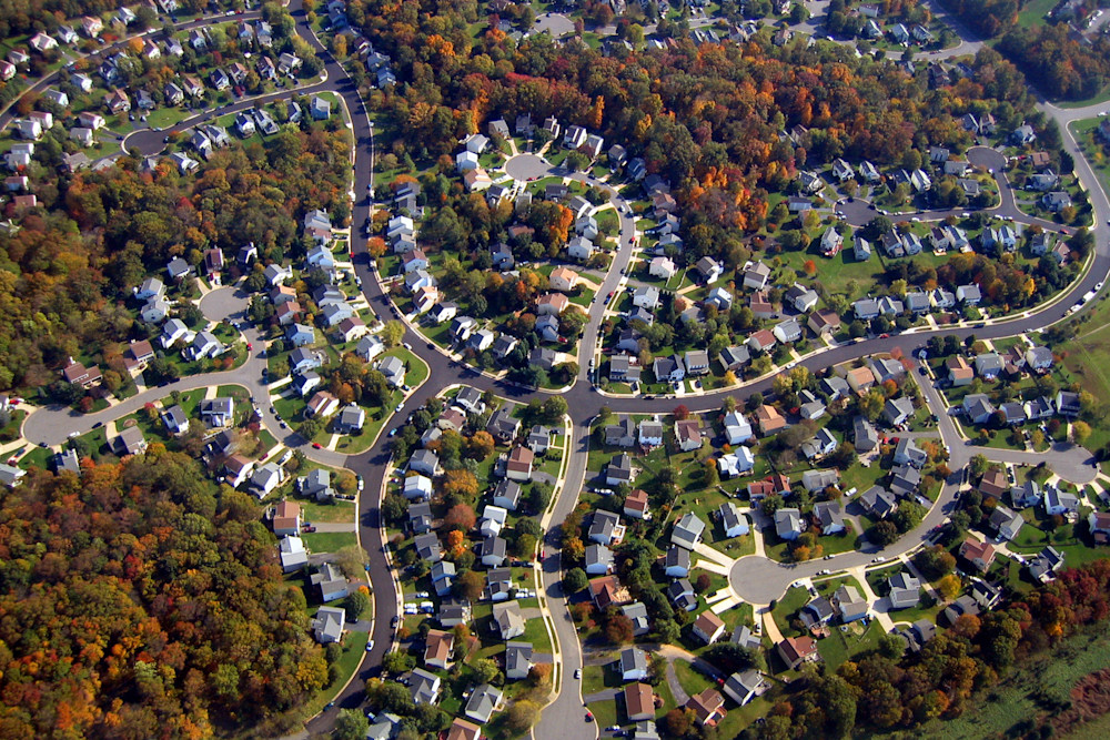 Neighborhood in Washington DC
