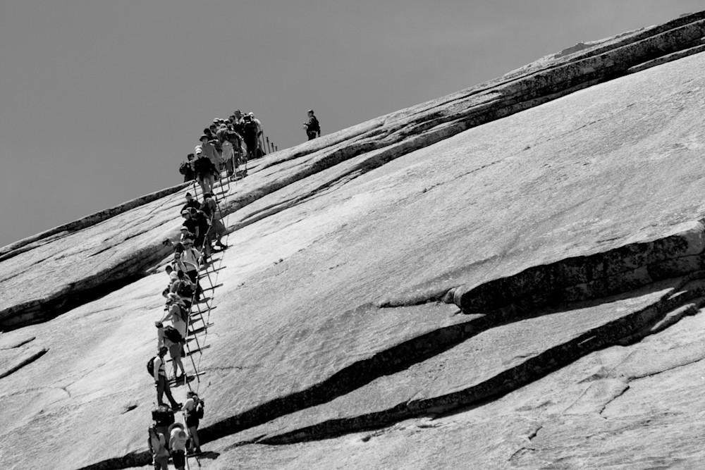 Climbing the Half Dome