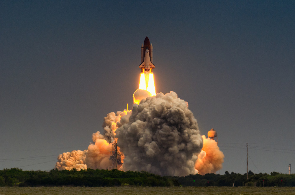 Launch of Atlantis-STS-135