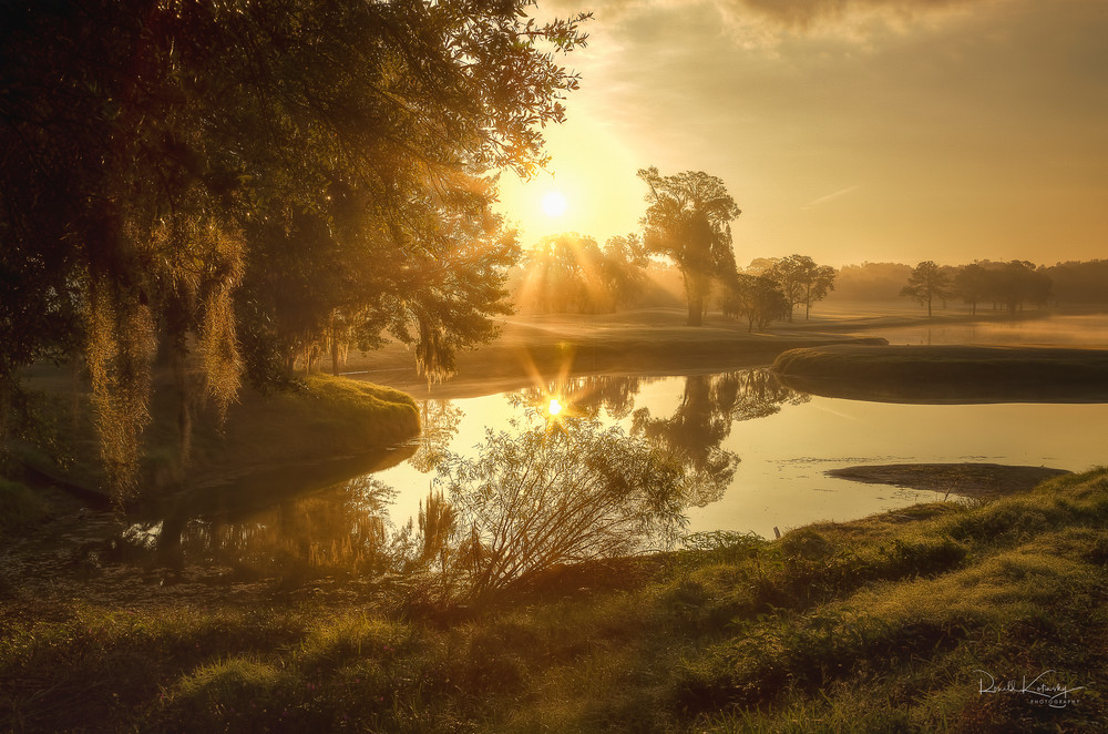Sunrise on the Green Photographic Art
