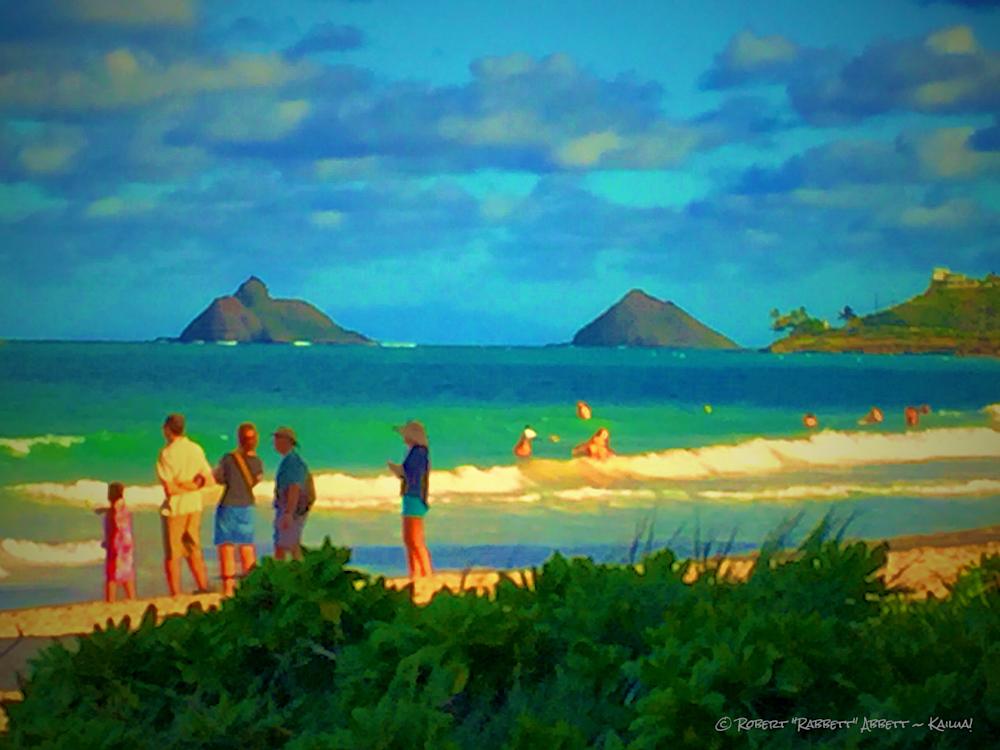 At Da Beach Dec 23th | Hawaiian Fine Art Photographs by Robert Abbett. Instagram