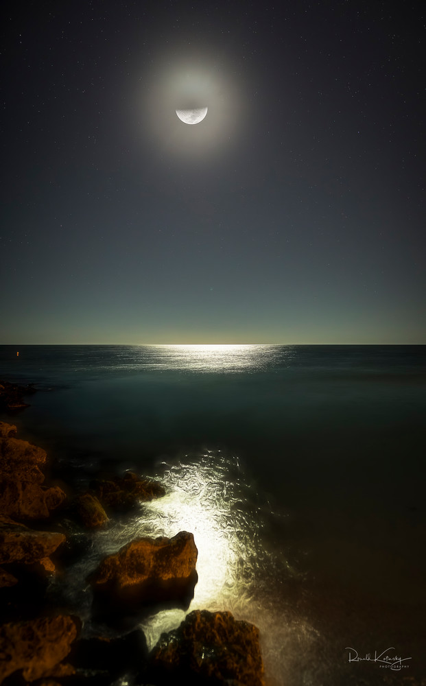 Lido Key Moon Rocks Photographic Art