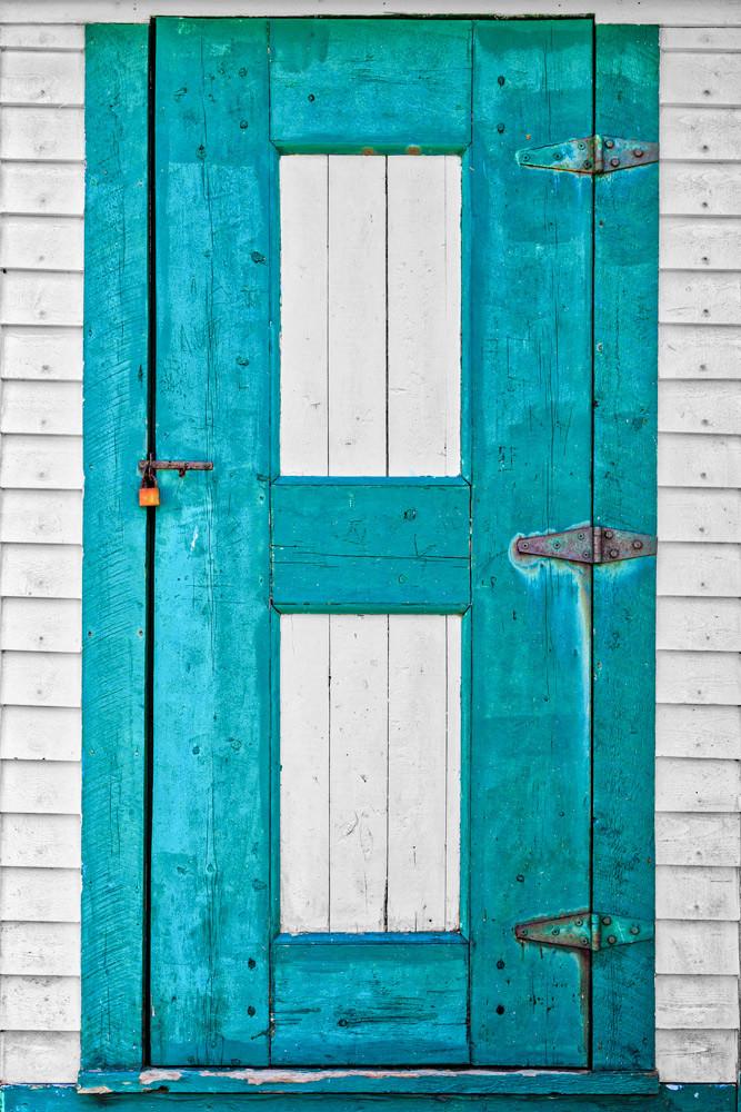 School House Door - Fogo