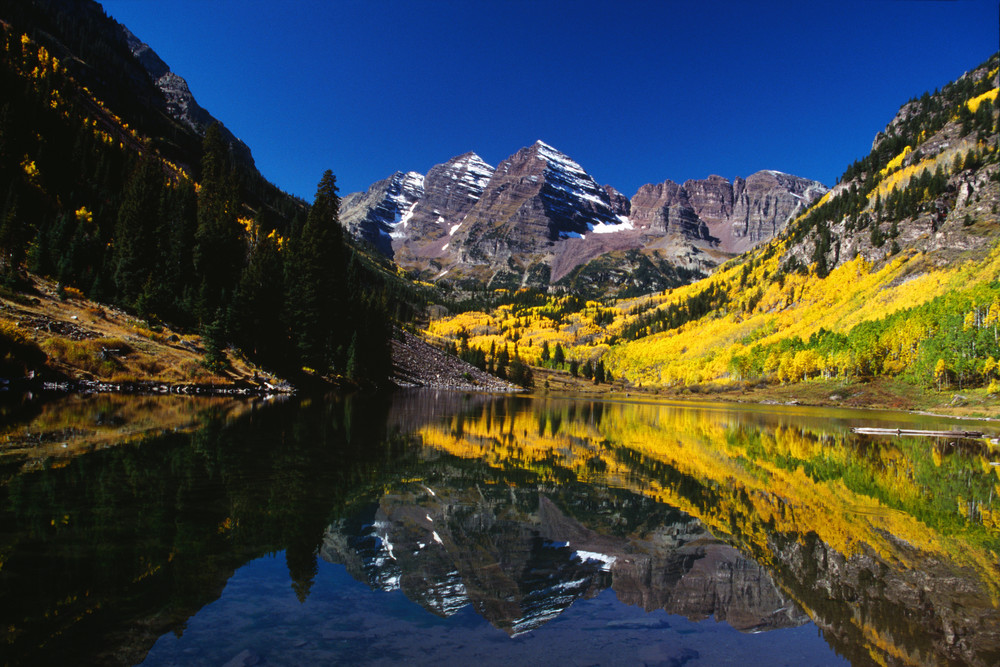 COL-4233 • Maroon Bells Colorado, Fall