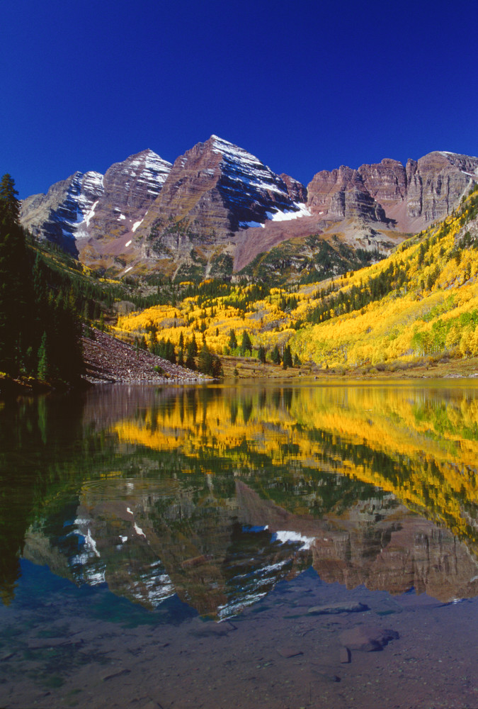 COL-4232 • Maroon Bells Colorado, Fall