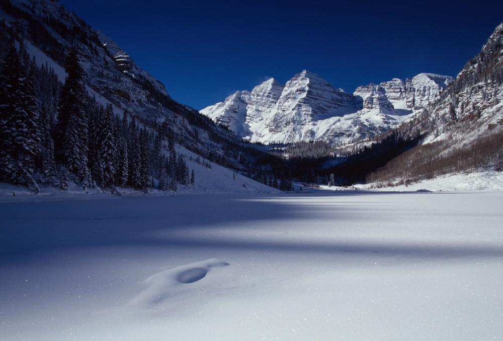 COL-4534 • Maroon Bells, Colorado, Winter