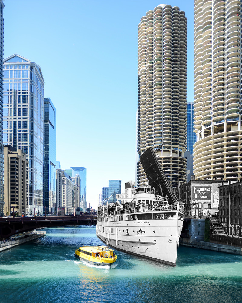 Steamship United States Art | Mark Hersch Photography