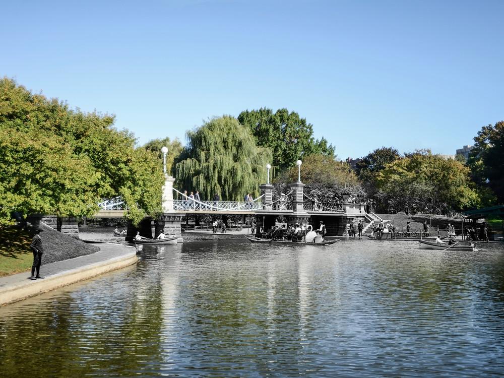 Lagoon Bridge, Boston Public Garden