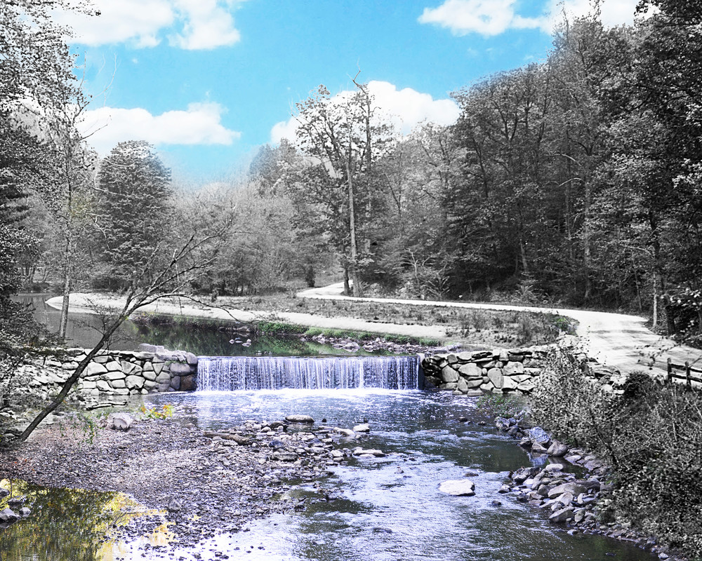 Waterfall, Rock Creek Park