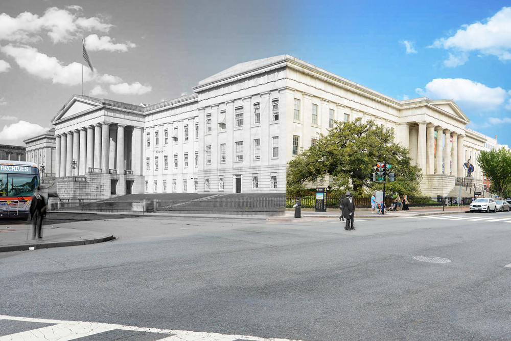 Old Us Patent Office Art | Mark Hersch Photography