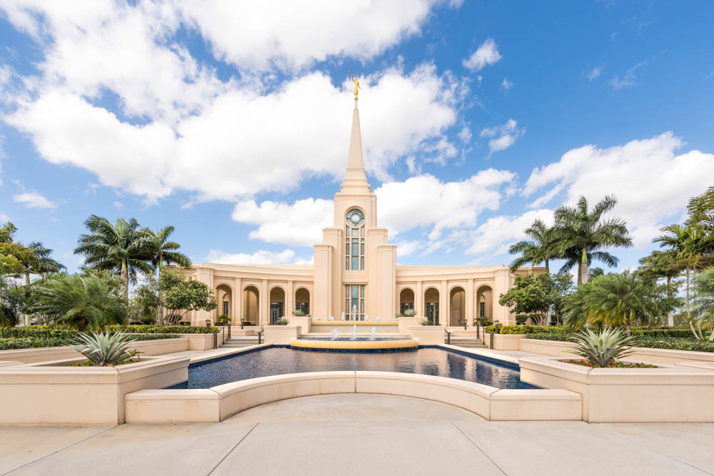 Fort Lauderdale Florida Temple - Reflection Pool
