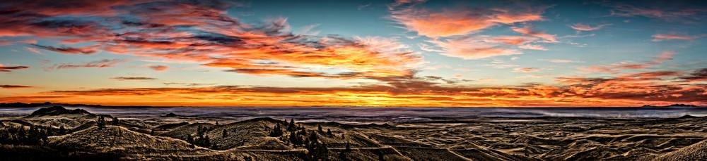 7 Range Sunset