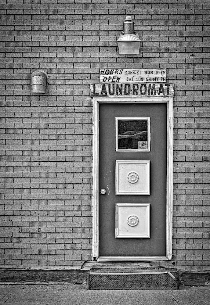 Laundromat day