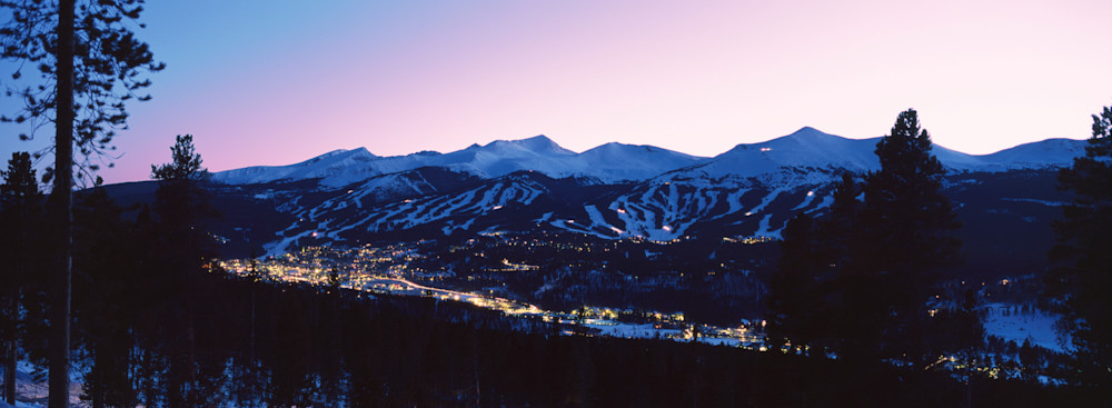 BRK-T002 • Breckenridge at Twilight, Colorado