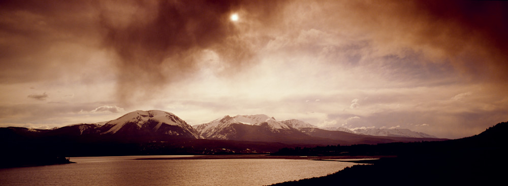 SUM-T073 • Stormm breaking over Lake Dillon & Gore Range