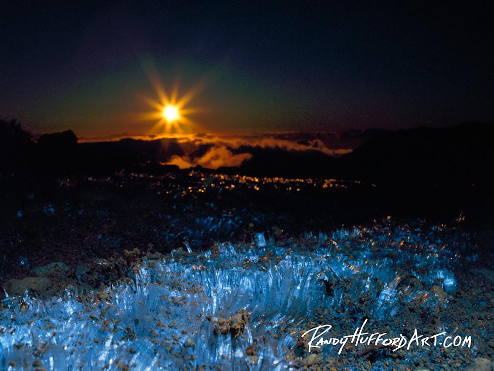 Haleakala Ice Crystals