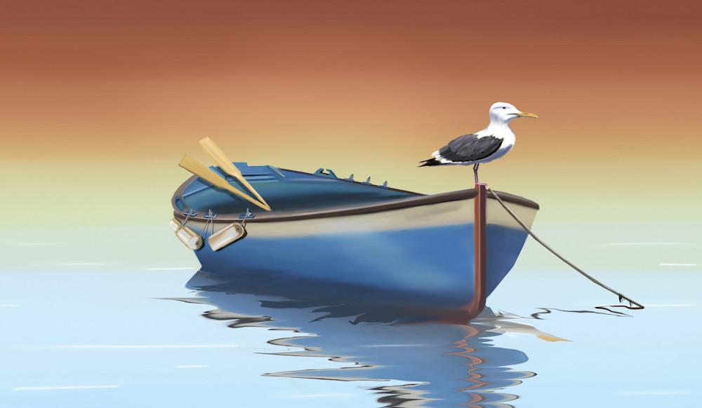 Seabird At Sunset Art   Dave Fox Studios