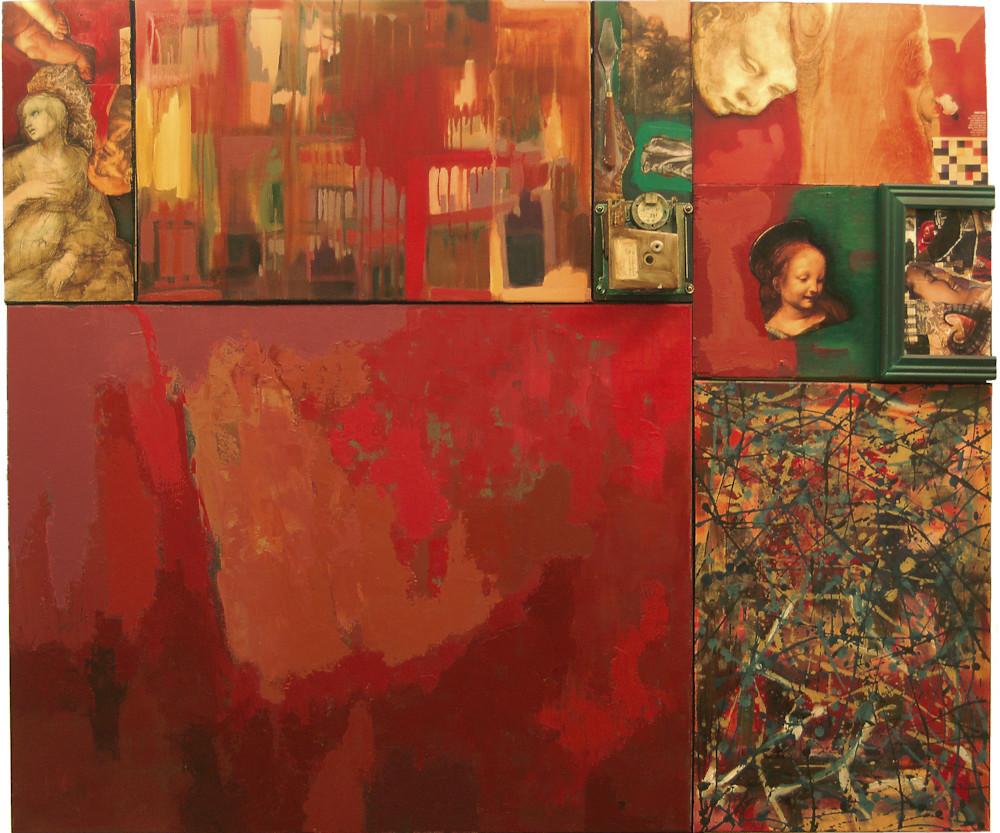 Grande Rosso No 1 Art | Giancarlo Piccin