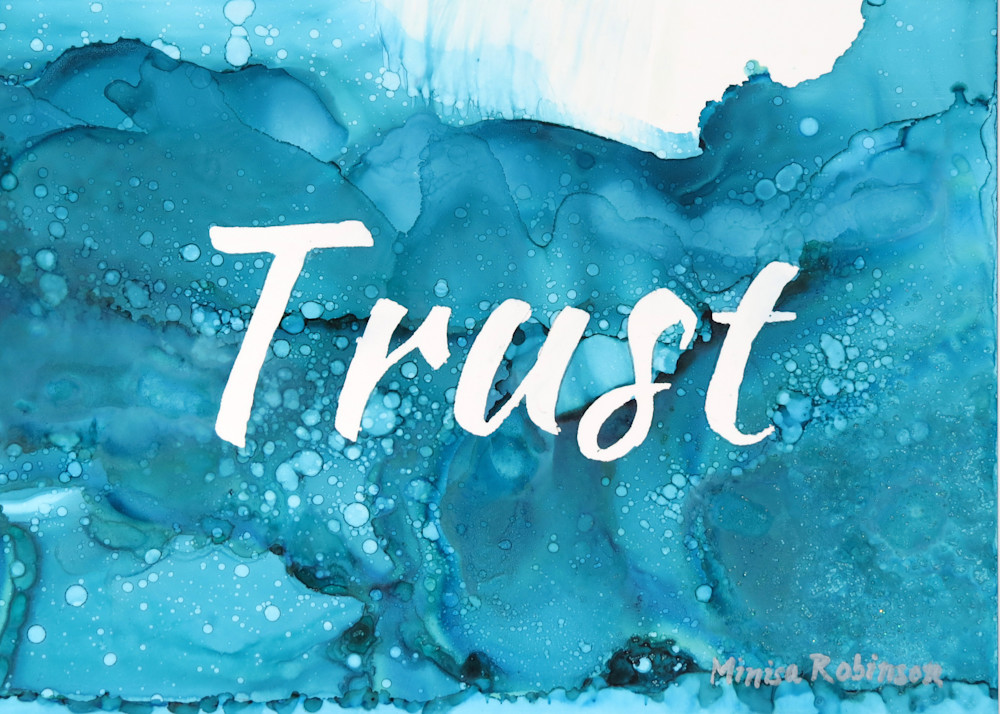 Trust  Print Art | Minisa Pyrography