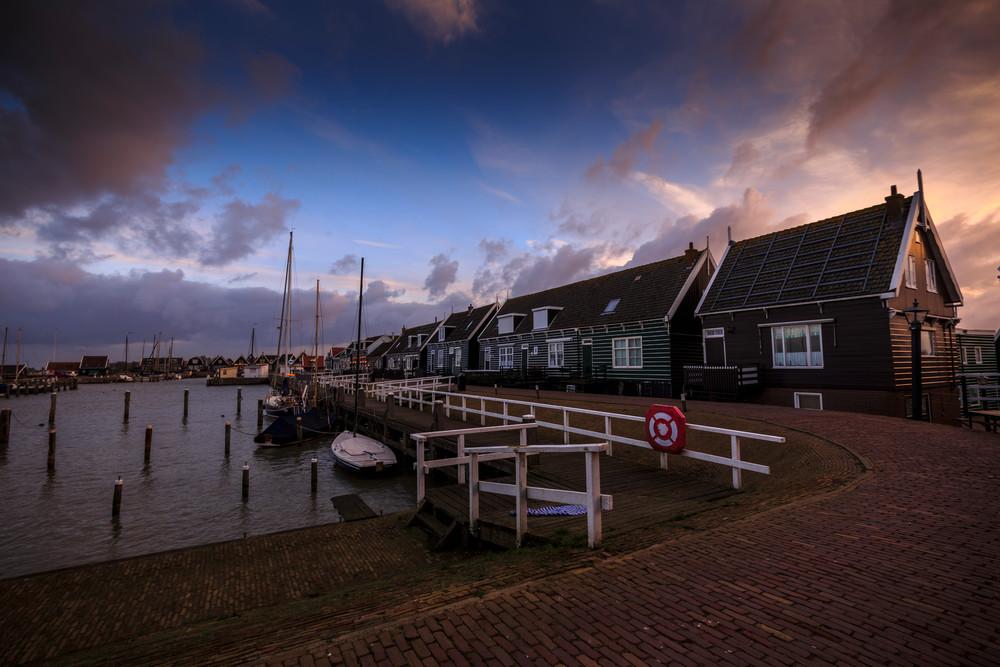 Rural 0077 Marken Fishing Village